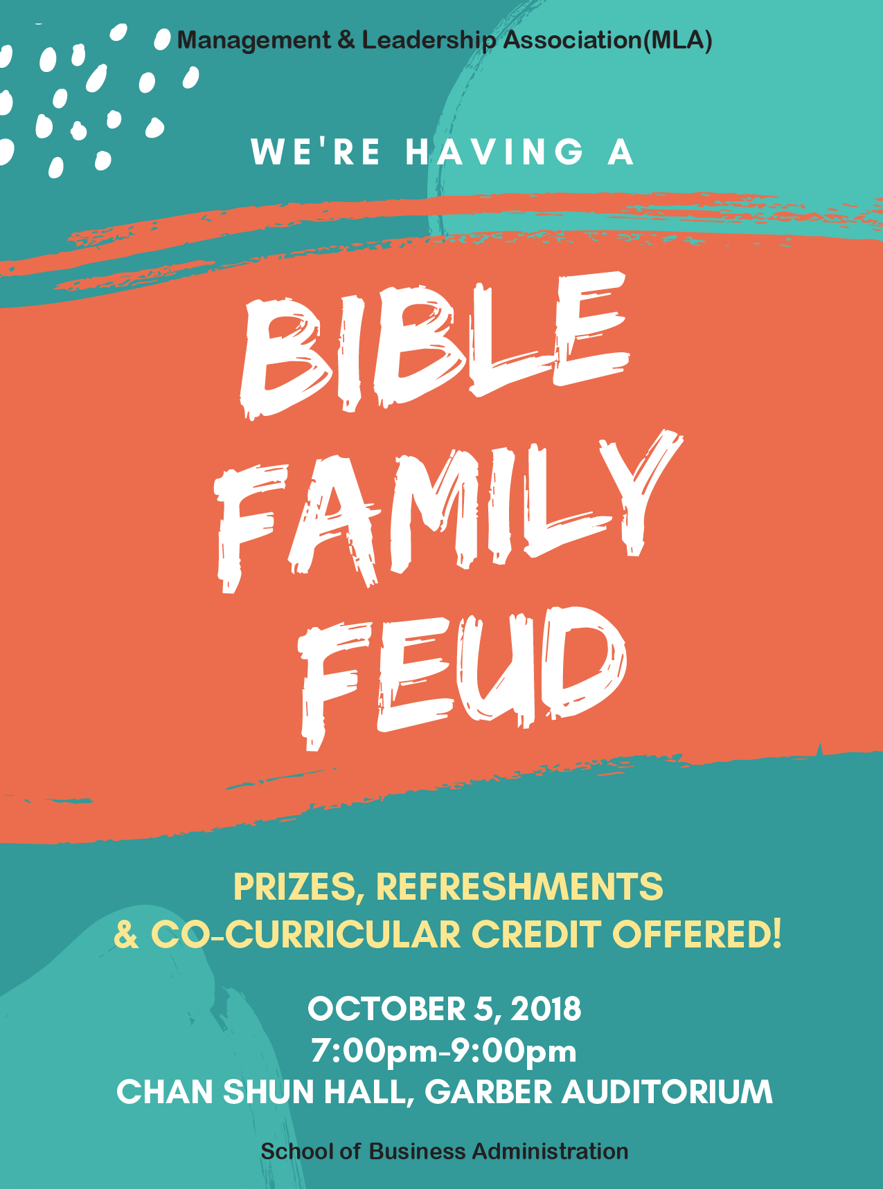 Bible Family Feud - Andrews Agenda :: Andrews University