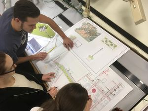 A Unified Space - Landscape architecture students connect community, place, history