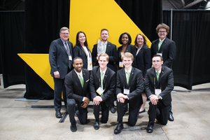 Enactus Team Competes in National Competition - Business students place third in their league