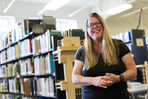 Paula Dronen Receives Michigan Advising Award - Andrews professor recognized for excellence