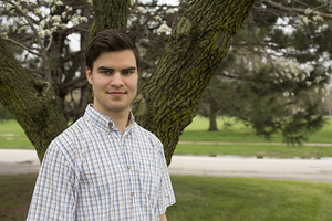 Andrews Student Receives Prestigious Award - Mykhaylo M. Malakhov awarded the Barry Goldwater Scholarship