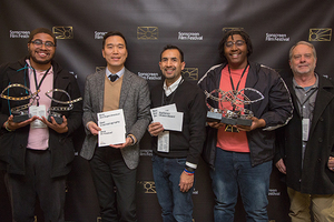 Andrews Graduates Receive Awards at Film Festival - Five awards were received at the Sonscreen Film Festival