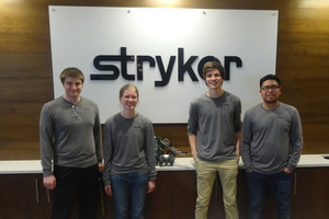 Andrews Students Win Stryker Engineering Challenge. The 9th annual Stryker Engineering Challenge took place March 21-22