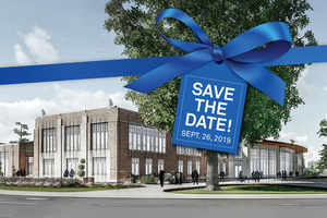 Andreasen Center for Wellness Ribbon Cutting. Ribbon cutting/grand opening, Thursday, Sept. 26, 2019