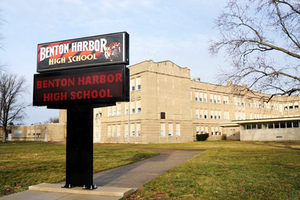 Proposed Closure of Benton Harbor HIgh School. Statement from President Andrea Luxton