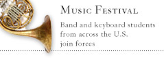 Band and Keyboards Music Festival