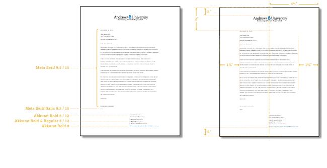 Letterhead andrews university letterhead guidelines spiritdancerdesigns Images