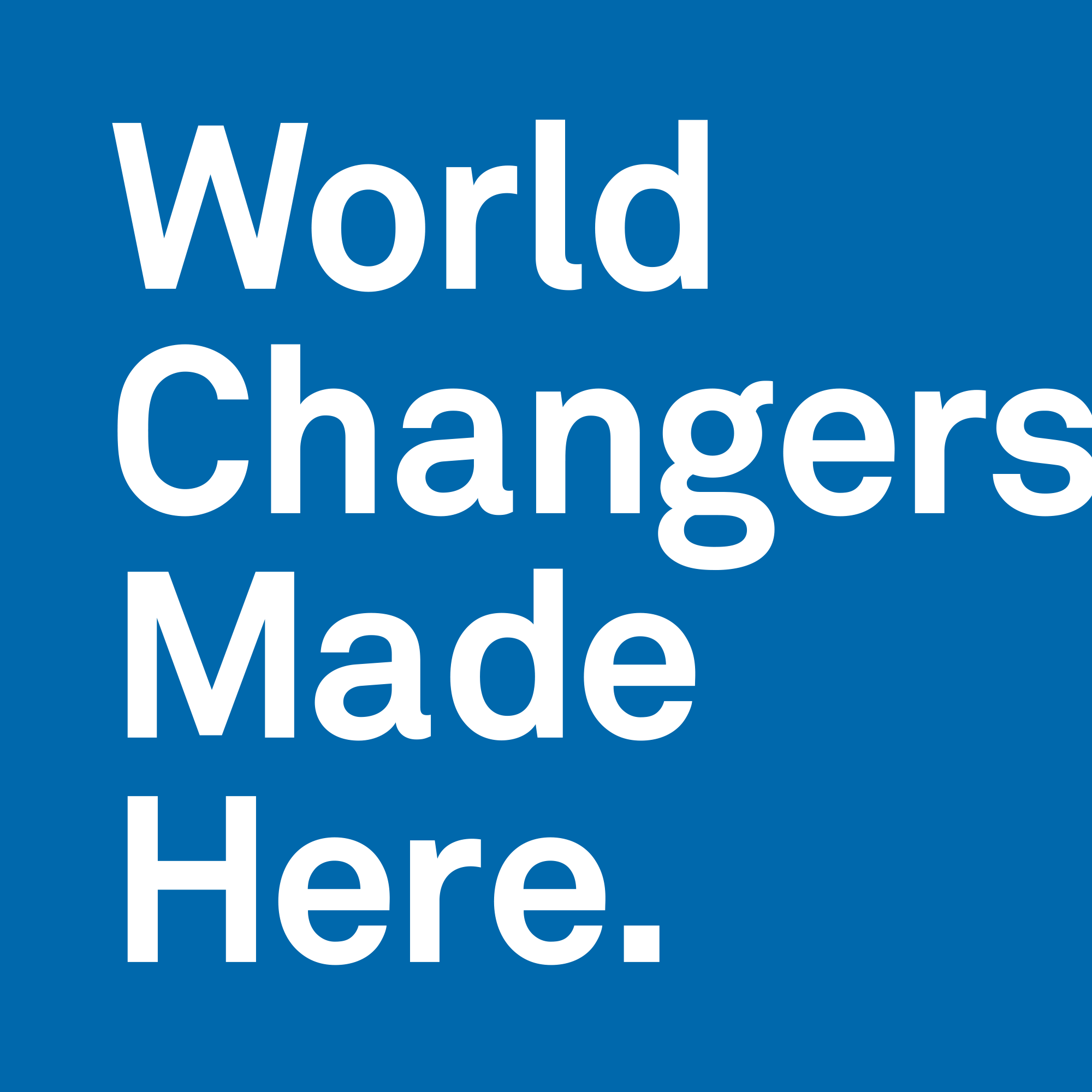 World Changers Vertical Logo
