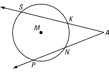 Chords And Secants Form Angles
