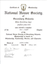 National honor society essay help officers