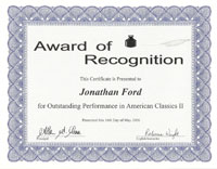 portfolio of jonathan ford academic skills