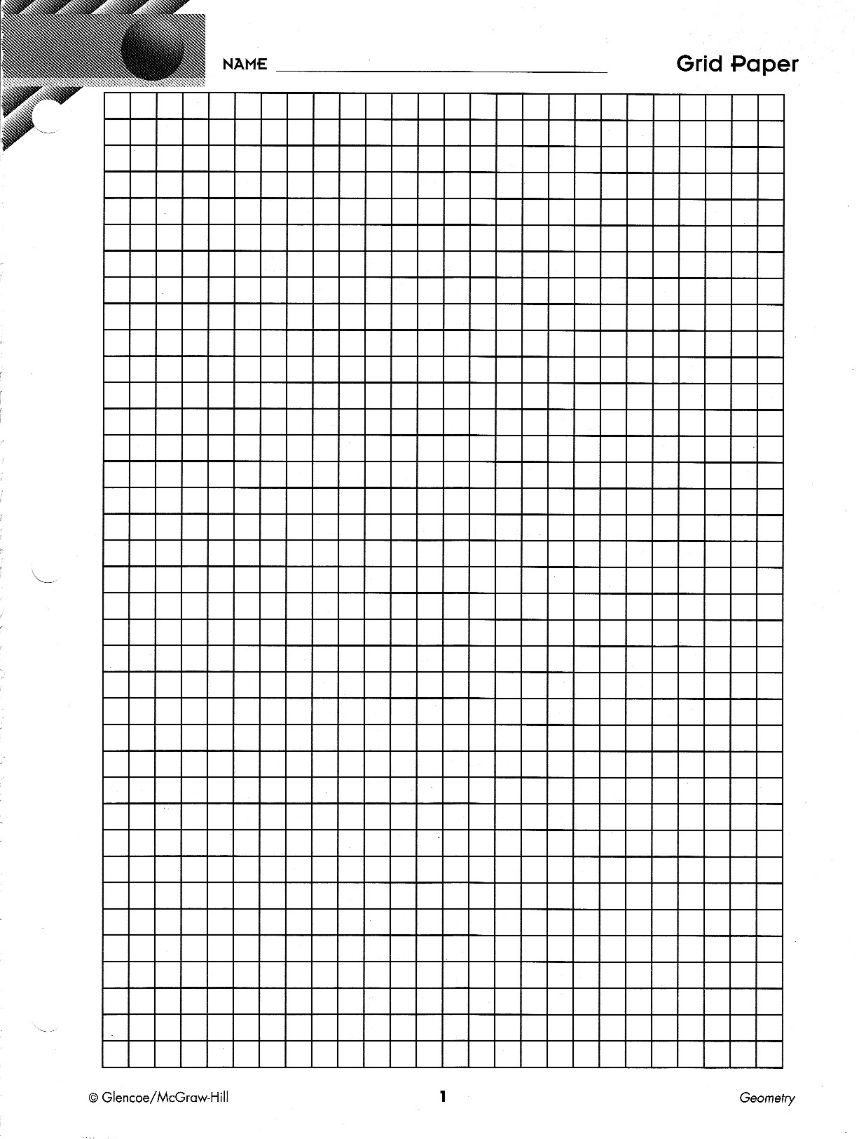 grid paper drawing